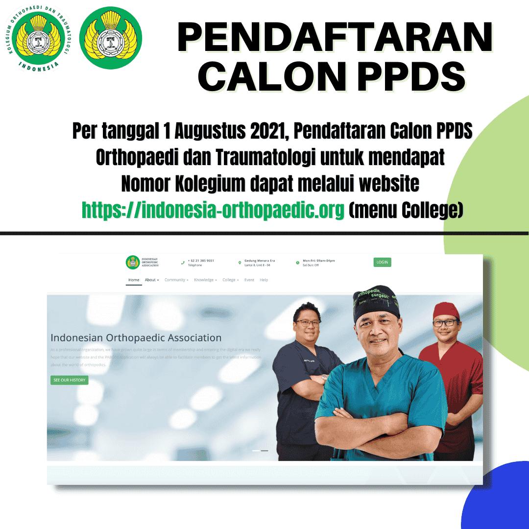 Peralihan Website (Pendaftaran Calon PPDS)